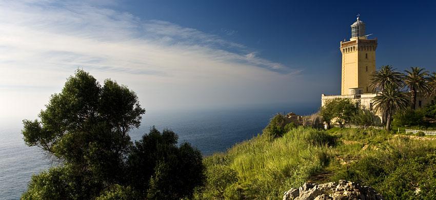 Itinerario della costa mediterranea